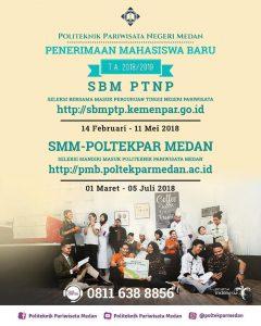 Pendaftaran SBM @ Politeknik Pariwisata Medan